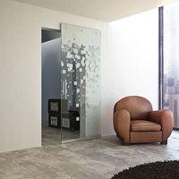 Скрытый раздвижной механизм для стеклянных дверей
